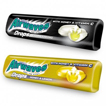 Airwaves drops honey & lemon méz - citrom kemény cukor 33,5g
