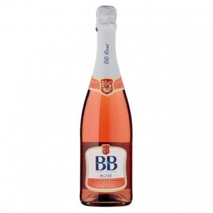BB félszáraz rozé pezsgő 11,5% 0,75L