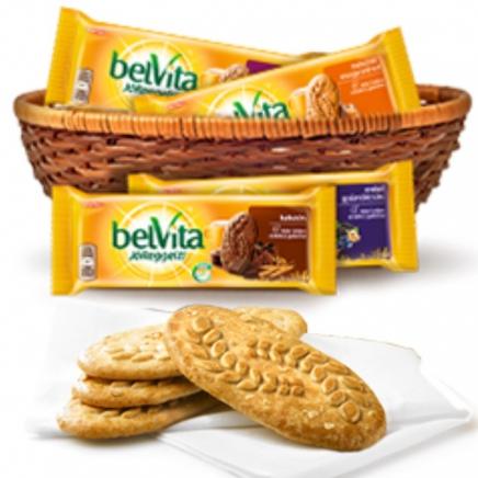 Belvita Jó reggelt! 50g mézzel - mogyoróval