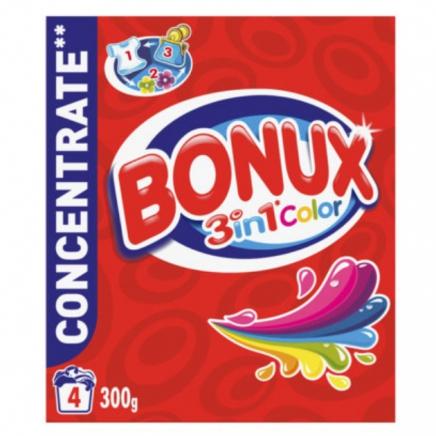 Bonux Color Mosópor 4 Mosás 300g