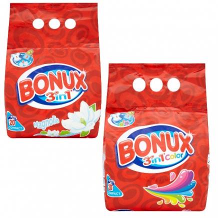 Bonux Magnólia Mosópor Fehér ruhákhoz 1.5kg