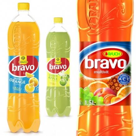 Bravo Multivitamin üdítőital 12% palackos 1,5L