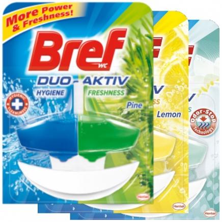 Bref duo aktiv kosaras wc öblítő odor stop 50ml