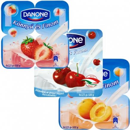 Danone Könnyű és Finom meggy joghurt 4x125g