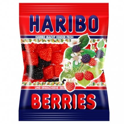 Haribo berries szeder-málna gumicukor 100g