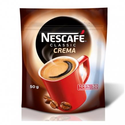 Nescafé Classic instant kávé utántöltő 50g