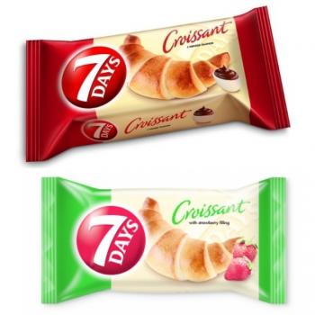 7 Days Midi croissant 60g több ízben