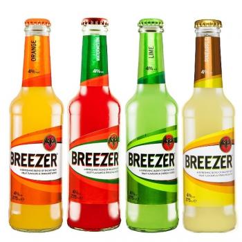 Bacardi Breezer alkoholos szénsavas frissítő italok 4% 275ml