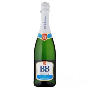 BB félszáraz fehér pezsgő 11,5% 0,75L