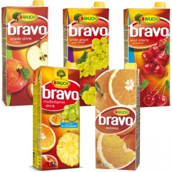 Bravo gyümölcsitalok dobozos 1,5l