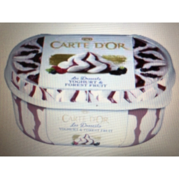 CARTE D' OR joghurt erdei 900ml