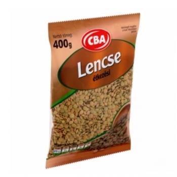 CBA Lencse 400g