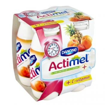 Danone Actimel vegyesgyümölcs 4x100g