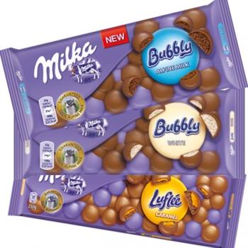 Milka Bubbly buborékos csokoládék 90g