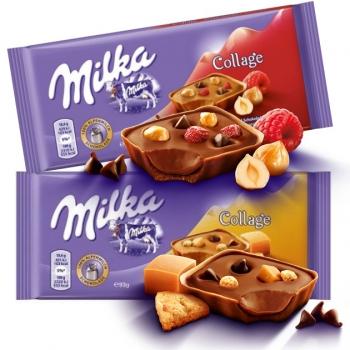 Milka Collage tejcsokoládék 93g