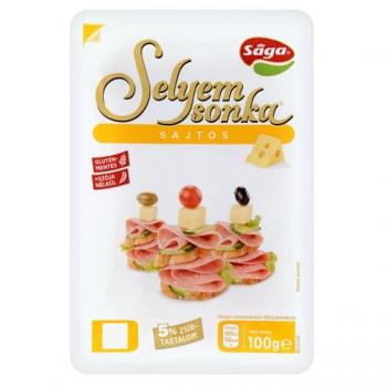 Sága sajtos selyemsonka 100g