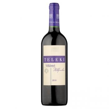 Villányi Teleki Kékfrankos száraz vörösbor 0,75L (üvegbetéttel)