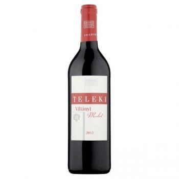 Villányi Teleki Merlot száraz vörösbor 0,75L (üvegbetéttel)