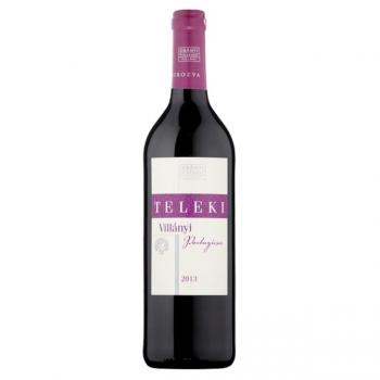 Villányi Teleki Portugieser száraz vörösbor 0,75L (üvegbetéttel)