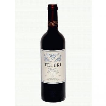 Villányi Teleki Zweigelt száraz vörösbor 0,75L (üvegbetéttel)