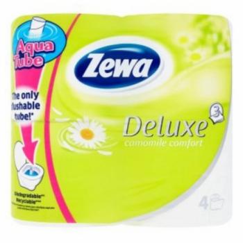 Zewa deluxe toalettpapír 4 tekercses 3 rétegű kamilla illatú